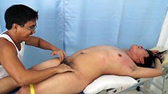 Chubby Asian Boy Tickled