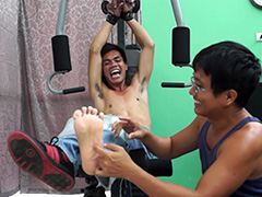 Ticklish Gym Workout – Argie