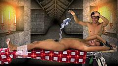 Josh's Tickle Torture Fantasy in the tickling dungeon