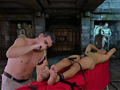 Gilbert Tickled In Daddy's Dungeon