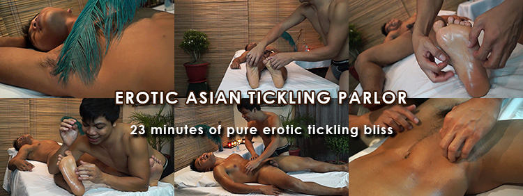 Gay Asian Erotic Tickling Parlor