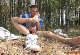 Sexy Man Foot Smelling