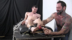 Graham Restrained Tickle Torture Blowjob