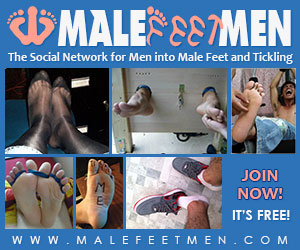 Male Feet Men - The social network for men into male feet and tickling