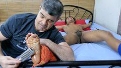 A Stranger Cums Tickling